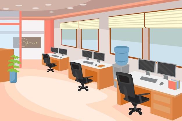 Desenho de fundo do escritório