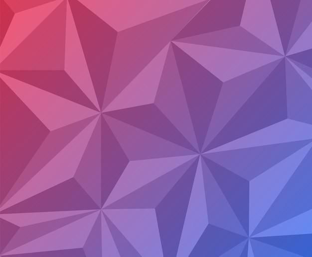 Desenho de fundo poligonal abstrato
