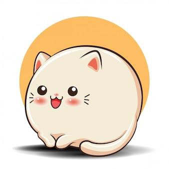 Desenho de gato bonito