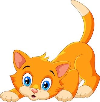Desenho de gato fofo