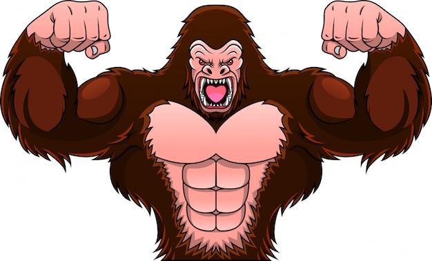 Desenho de gorila
