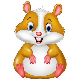 Desenho de hamster bonito