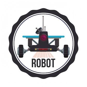 Desenho de ícone de robô