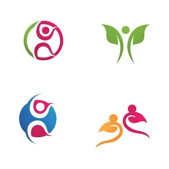 Desenho de ilustração vetorial para logotipo de caráter humano