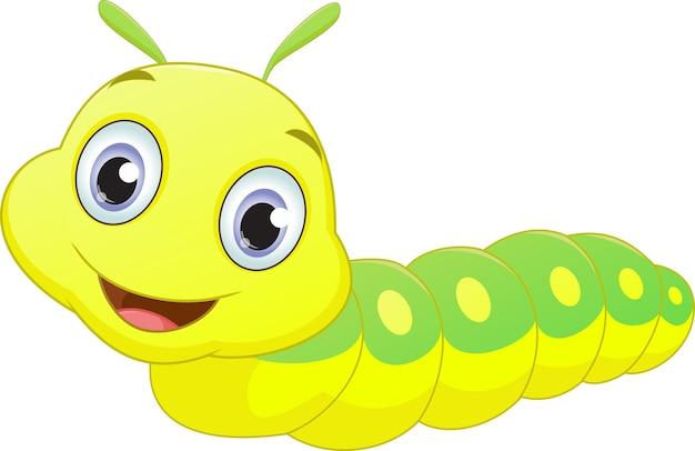 Desenho de lagarta bonito