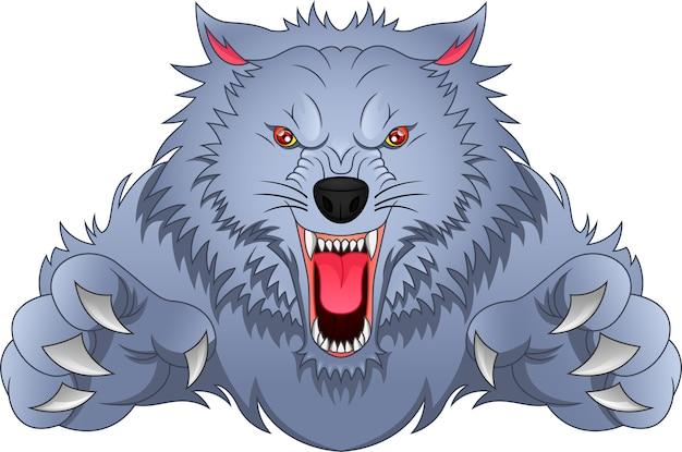 Desenho de lobo