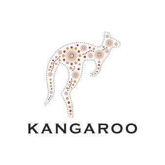 Desenho de logotipo canguru arte cultura