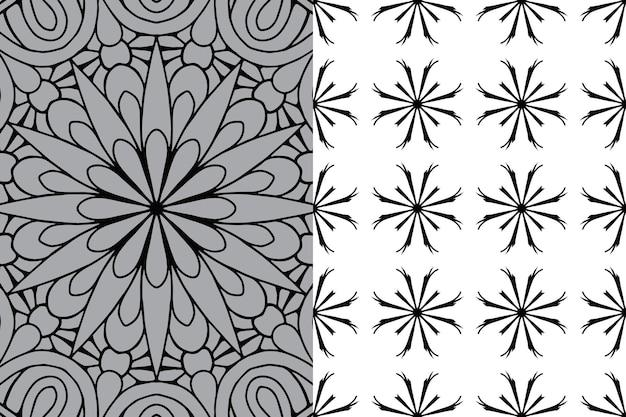 Desenho de mandala ornamental de luxo