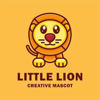 Desenho de mascote de leãozinho