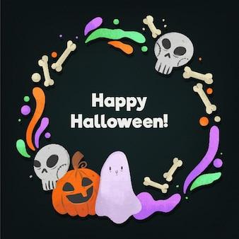 Desenho de morcego do festival de halloween