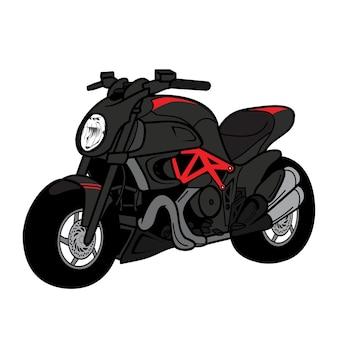 Desenho de motocicleta bigbike