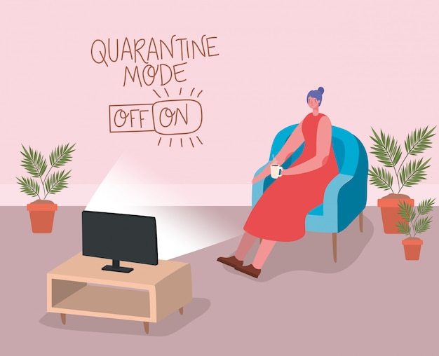 Desenho de mulher bebendo café no design da cadeira de tempo beber café da manhã bebida loja manhã loja aroma e cafeína tema ilustração