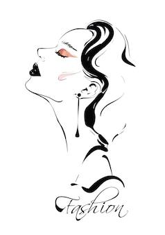 Desenho de mulher