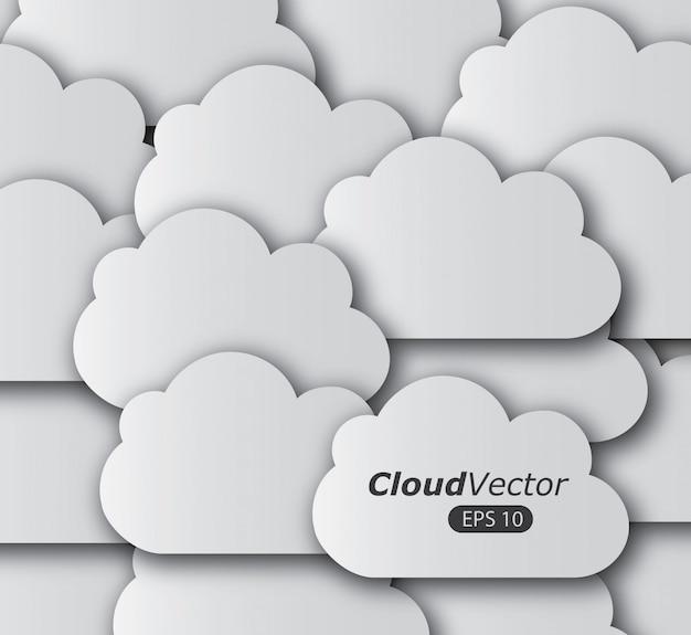 Desenho de nuvens