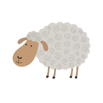 Desenho de ovelha bonito