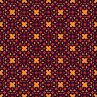 Desenho de padrão, fundo, estilo de motivo étnico