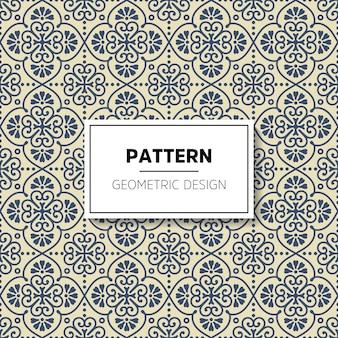 Desenho de padrão geométrico