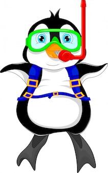 Desenho de pinguim bonitinho