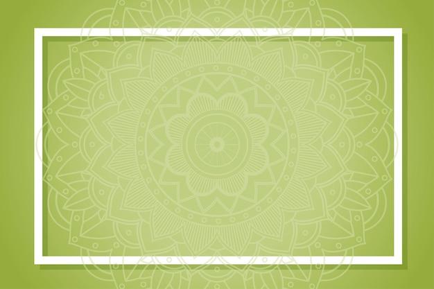 Desenho de plano de fundo com padrões de mandala