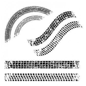Desenho de pneus