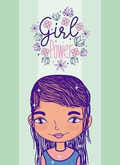 Desenho de poder menina