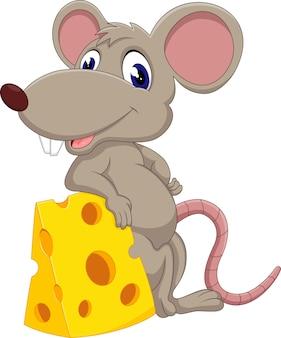 Desenho de rato bonito