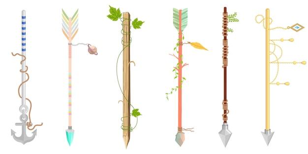 Desenho de seta - um conjunto de flechas fofas