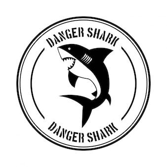 Desenho de tubarão