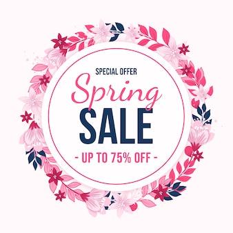 Desenho de venda de primavera
