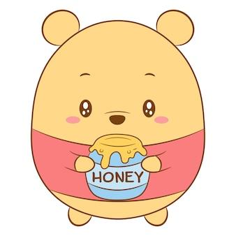 Desenho de winnie the pooh fofo