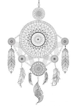 Desenho desenhado de sonho