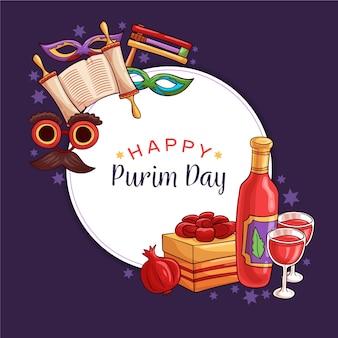 Desenho do dia de purim