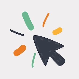 Desenho do ícone do mouse