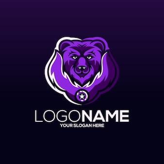 Desenho do logotipo do urso