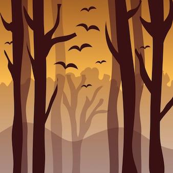 Desenho florestal