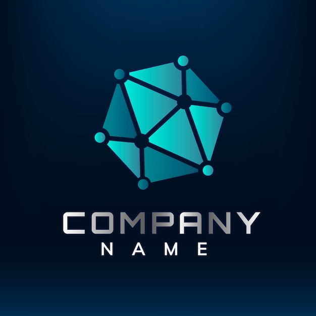 Desenho geométrico de logotipo