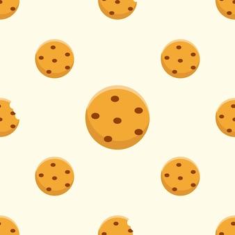 Desenho padrão de biscoitos