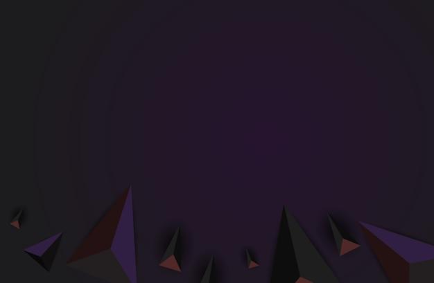Desenho poligonal fundo geométrico abstrato.