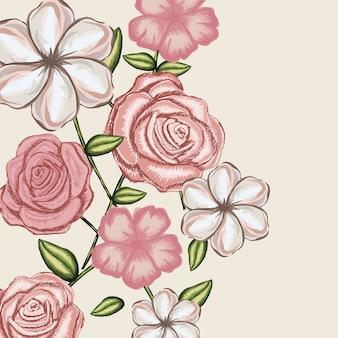Desenho rosa