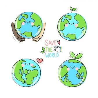 Desenho salve a coleção do mundo
