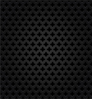 Desenho vetorial abstrato de metal escuro