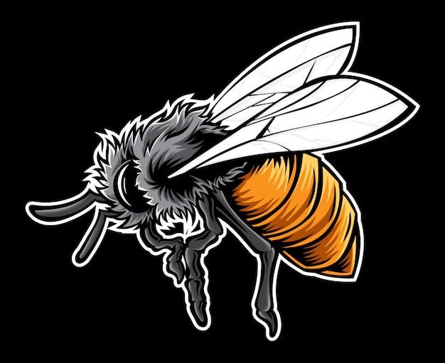Desenho vetorial de abelha
