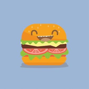 Desenho vetorial de hambúrguer