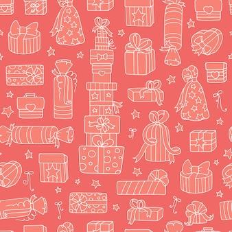Desenho vetorial rosa sem costura padrão para papel de parede, plano de fundo de página da web, texturas de superfície infantil.