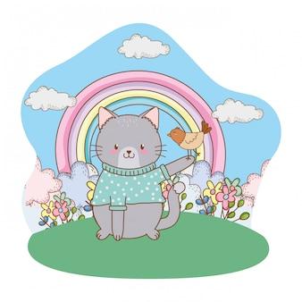 Desenhos animados bonitos dos animais dos littles
