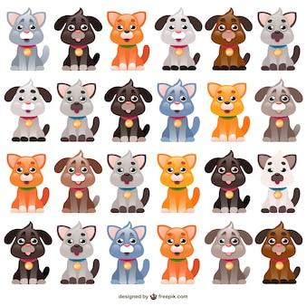 Desenhos animados cães