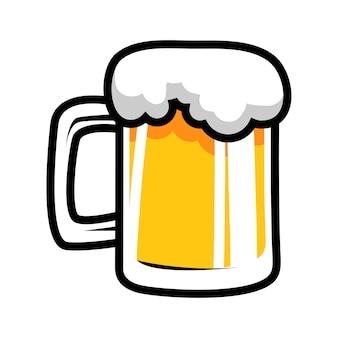 Desenhos animados da caneca de cerveja