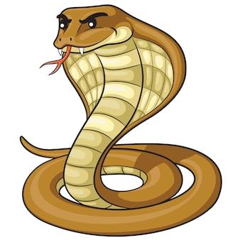 Desenhos animados da cobra