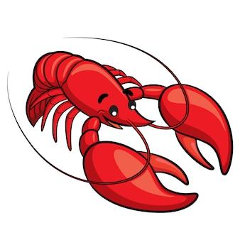 Desenhos animados da lagosta
