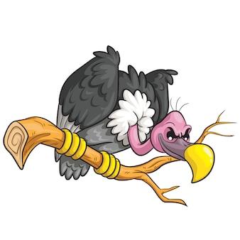Desenhos animados de abutre